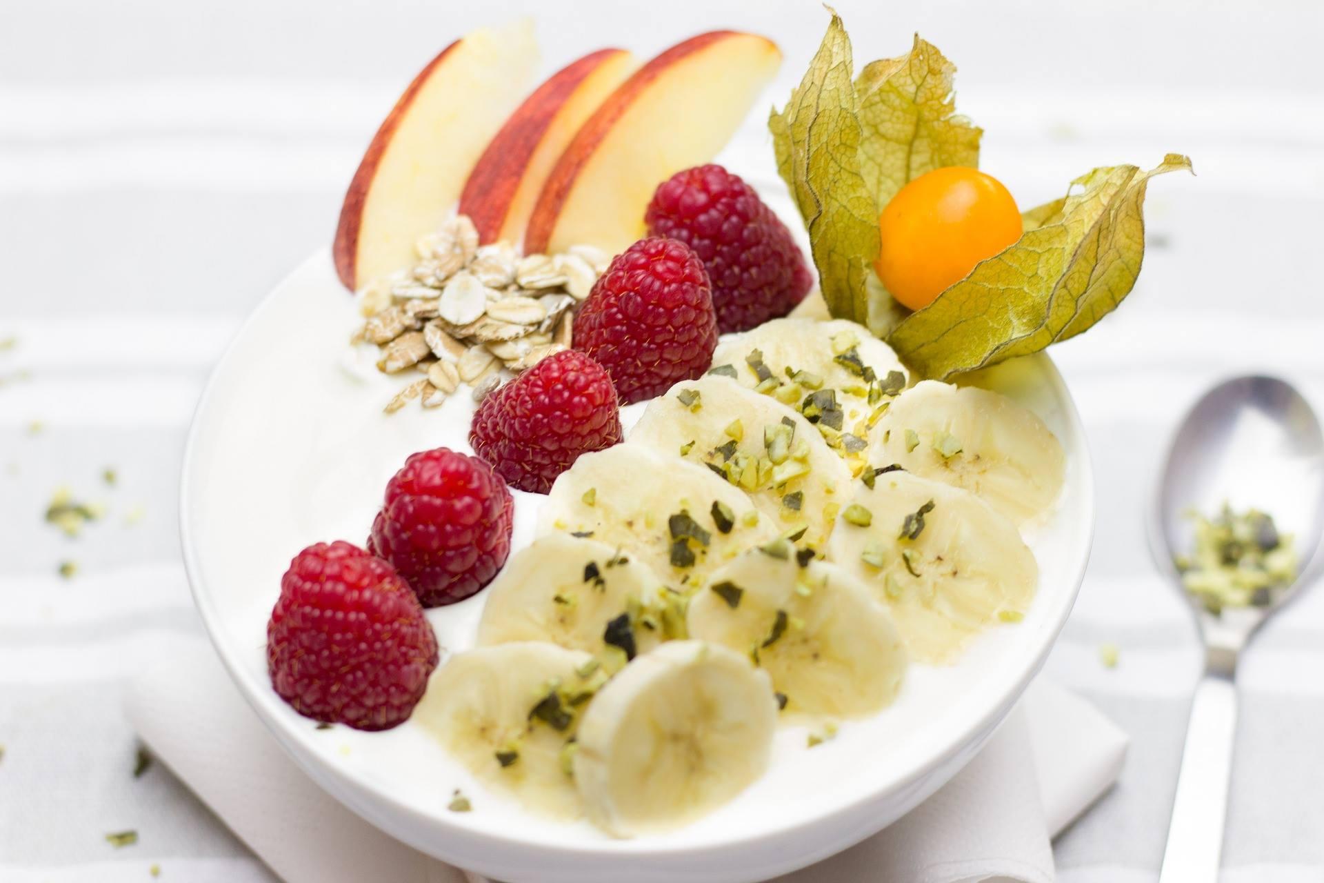 Yoghurt, gezond ontbijt